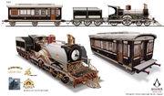 ACS Train Hideout Locomotive 3 - Concept Art