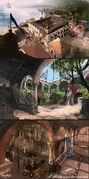 Assassin's Creed IV Black Flag concept art 16 by Rez