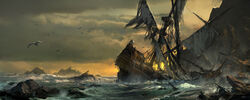 AC4BF More Shipwreck - Concept Art