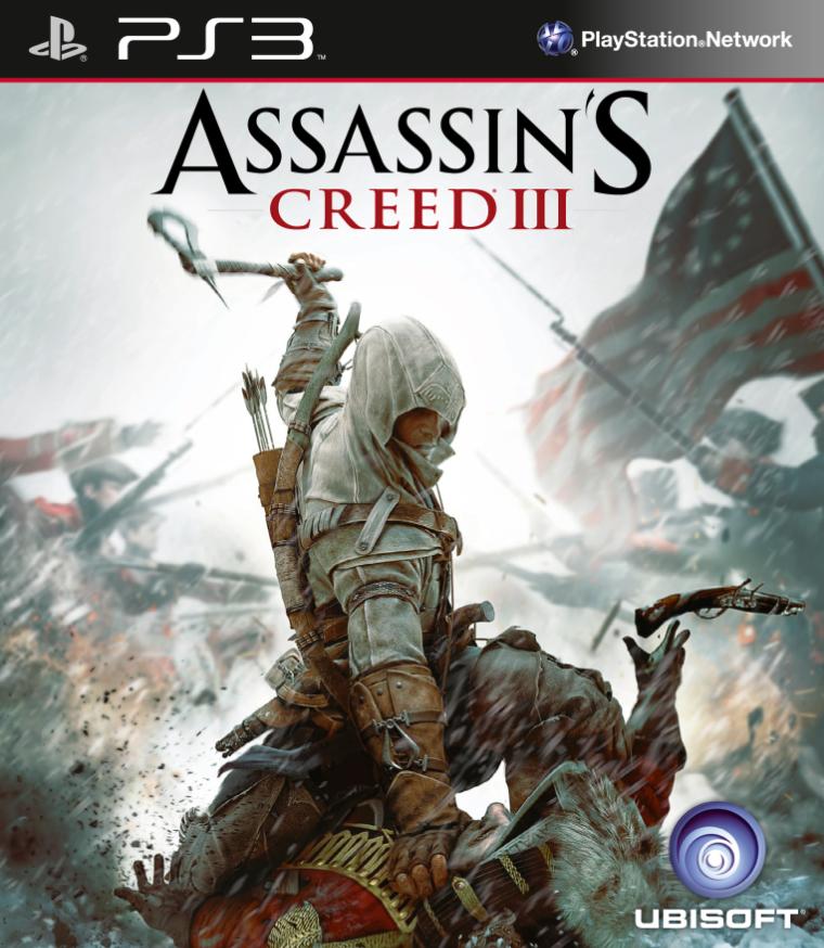 Kết quả hình ảnh cho Assassins Creed III cover ps3