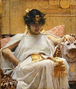 515px-Cleopatra - John William Waterhouse