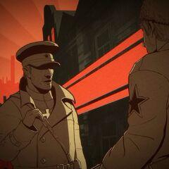 布尔什维克党军官<br />蘇維埃军官
