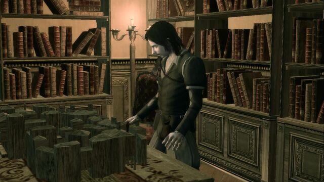 File:Antonio and the model of the palazzo seta.jpg