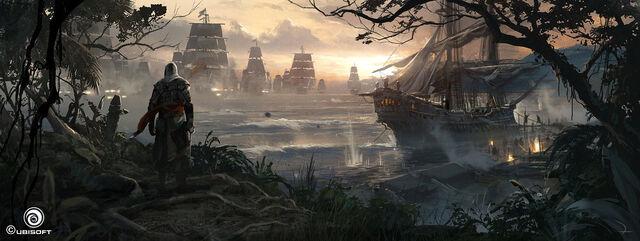 File:Assassin's Creed IV Black Flag concept art 31.jpg