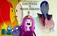 Flame Princess Vs. Princess Bubblegum