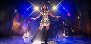 AandA 4-1; Ally Dawson looking sexy on stage