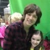Aubrey k. Miller and Leo Howard photo
