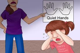 Quiet Hands by MissLunaRose
