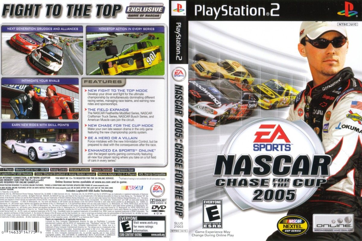 NASCAR 2005: Chase for the Cup | Auto Racing Video Games Wiki | FANDOM powered by Wikia