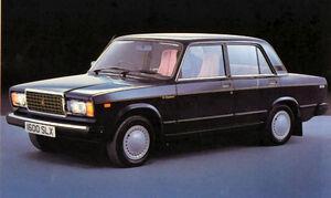 Lada Riva black