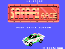 Safari Race Title