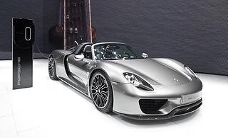 Porsche 918 Spyder IAA 2013