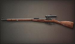 Weapon Sniper Mosin Nagant