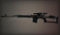 Weapon Sniper Dragunov SVD