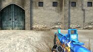 M4A1 Witch Crouched