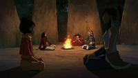 Kya comforting Tenzin