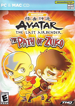 Avatar: The Last Airbender - The Path of Zuko - Juegos ...