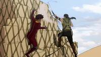 Kai versus a bandit