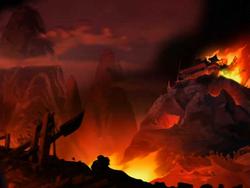 Earth Kingdom ravaged