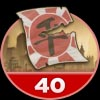 The Last Stand Badge 40