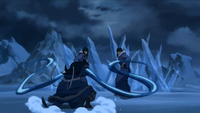 Desna and Eska fight Ming-Hua