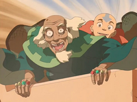 Aang and King Bumi
