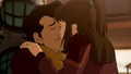 Varrick and Zhu Li kiss.png