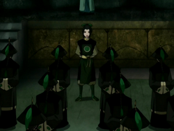 Azula instructs Dai Li agents