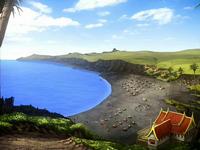 Ember Island beach