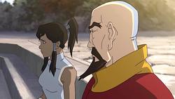 Tenzin and Korra