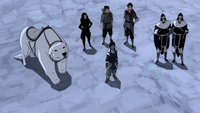 Team Avatar and the White Lotus