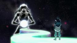 Korra's inner spirit