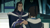 Unalaq expressing his faith in Korra