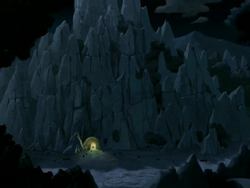 Earth Rumble VI cave entrance