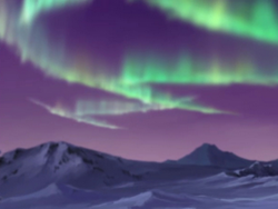The southern lights