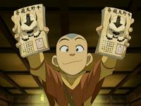 Aang's flyers