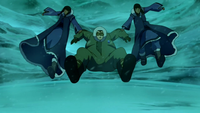 Desna and Eska saving Bolin