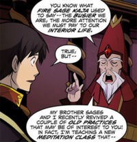 Shyu advises Zuko