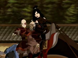 Zuko, Iroh, and June