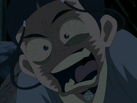 Katara freaking out