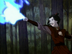 Azula attacks