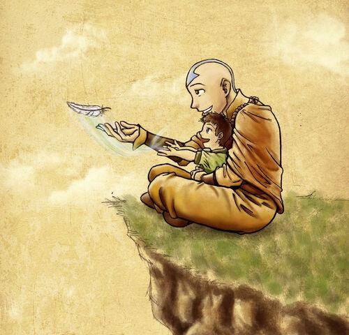 File:Aang and Tenzin.jpg