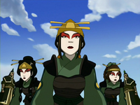 Impersonating Kyoshi Warriors