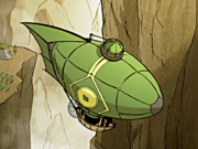 Earth Kingdom hot air balloon