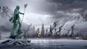 Republic City under attack