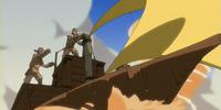 Sand-sailer