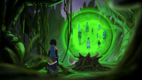 Korra finds captured souls