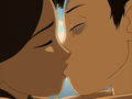 Aang and Katara kiss in a dream.png