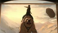 Bolin attacking Hiroshi