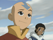 Aang and Katara